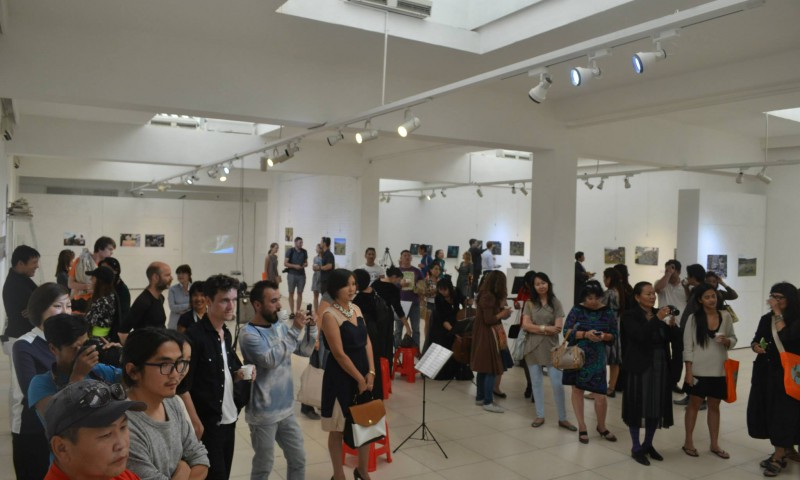 Opening at Union of Mongolian Artists Art Gallery (UMA)